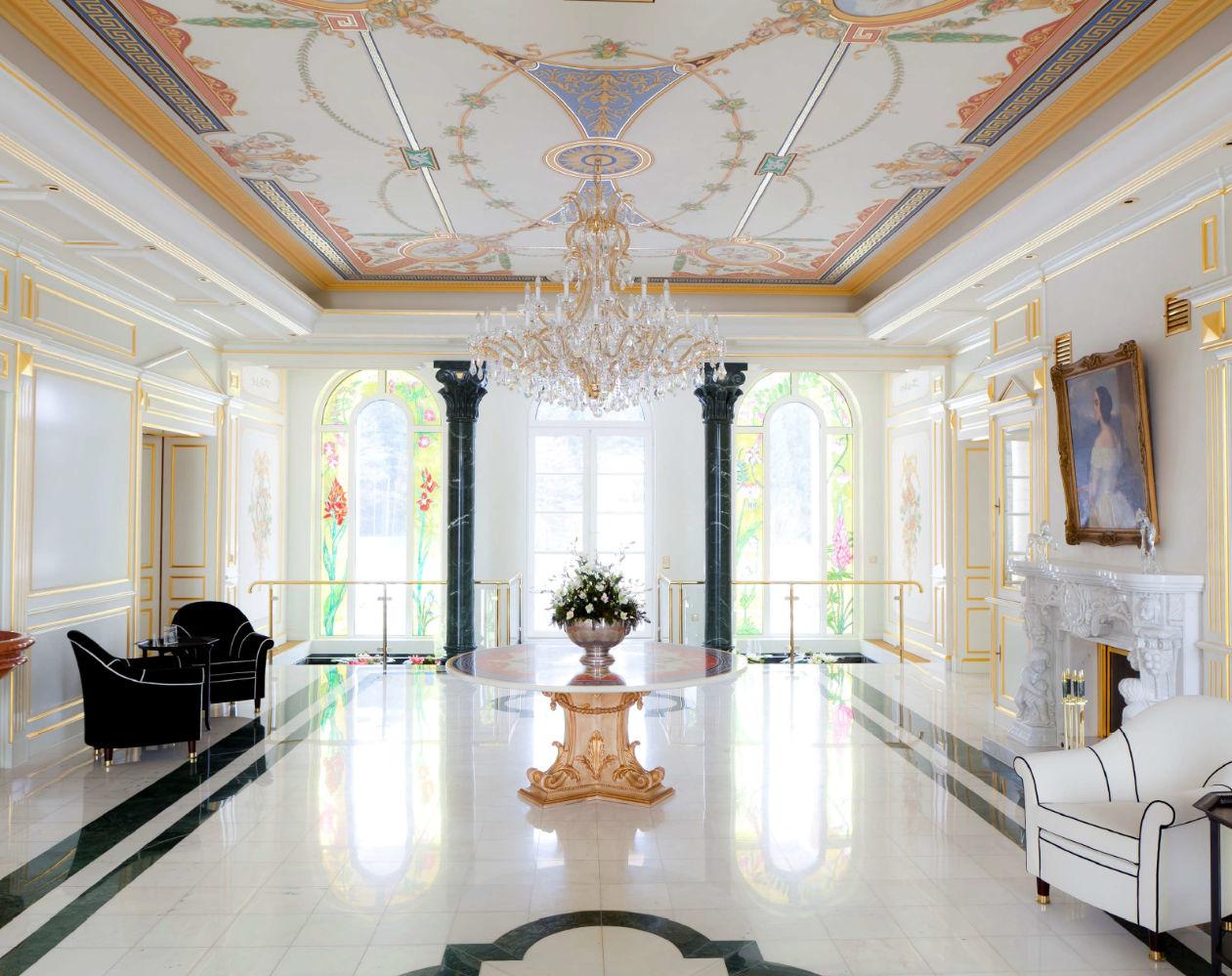 Château privé, Munich, Allemagne - Agencement sur mesure - LA MANUFACTURE 1924 -